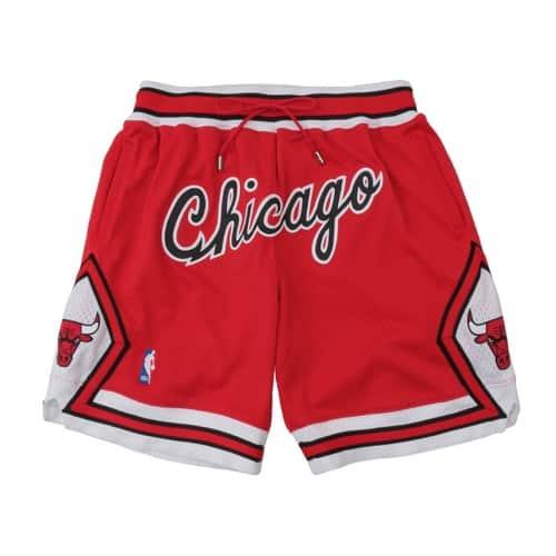 """""Mitchell & Ness Just Don Swingman Shorts - CHI Bulls RED 20SU-S"""""